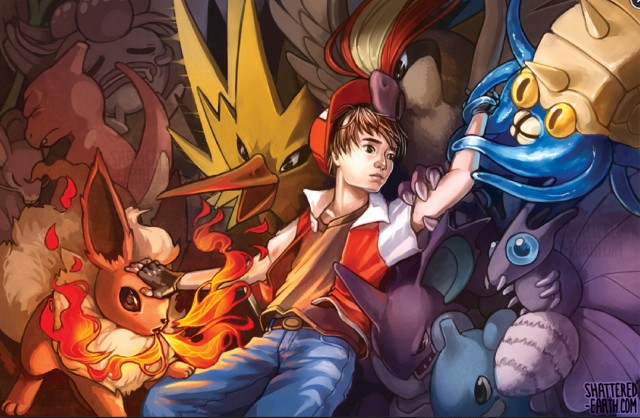 Twitch Plays Pokemon Wallpaper ShatteredEarth Print DeviantArt