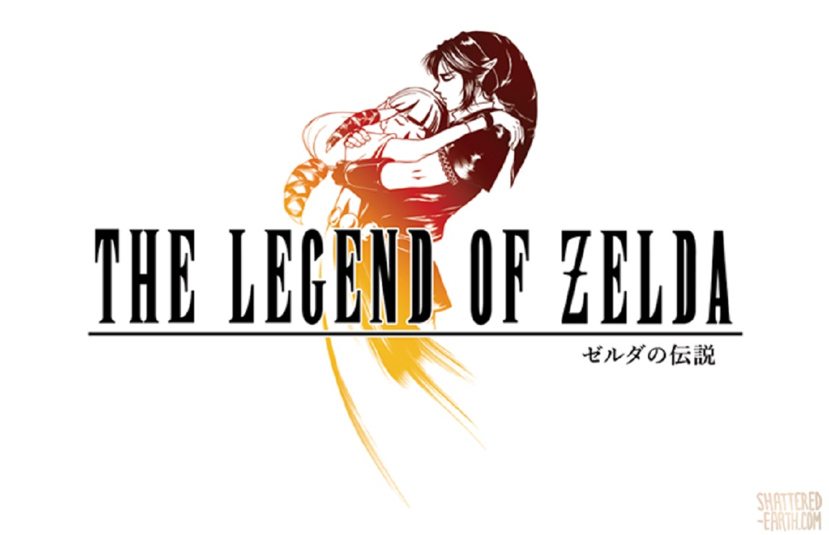 Zelda vs Final Fantasy VIII Skyward Sword Logo