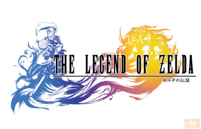 Zelda vs Final Fantasy X Ocarina of Time Logo