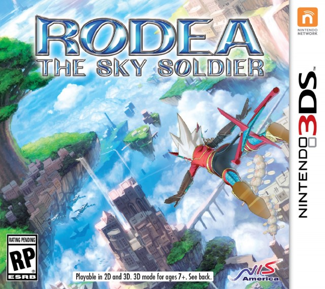 3DS Rodea The Sky Soldier Box Artwork USA 2015
