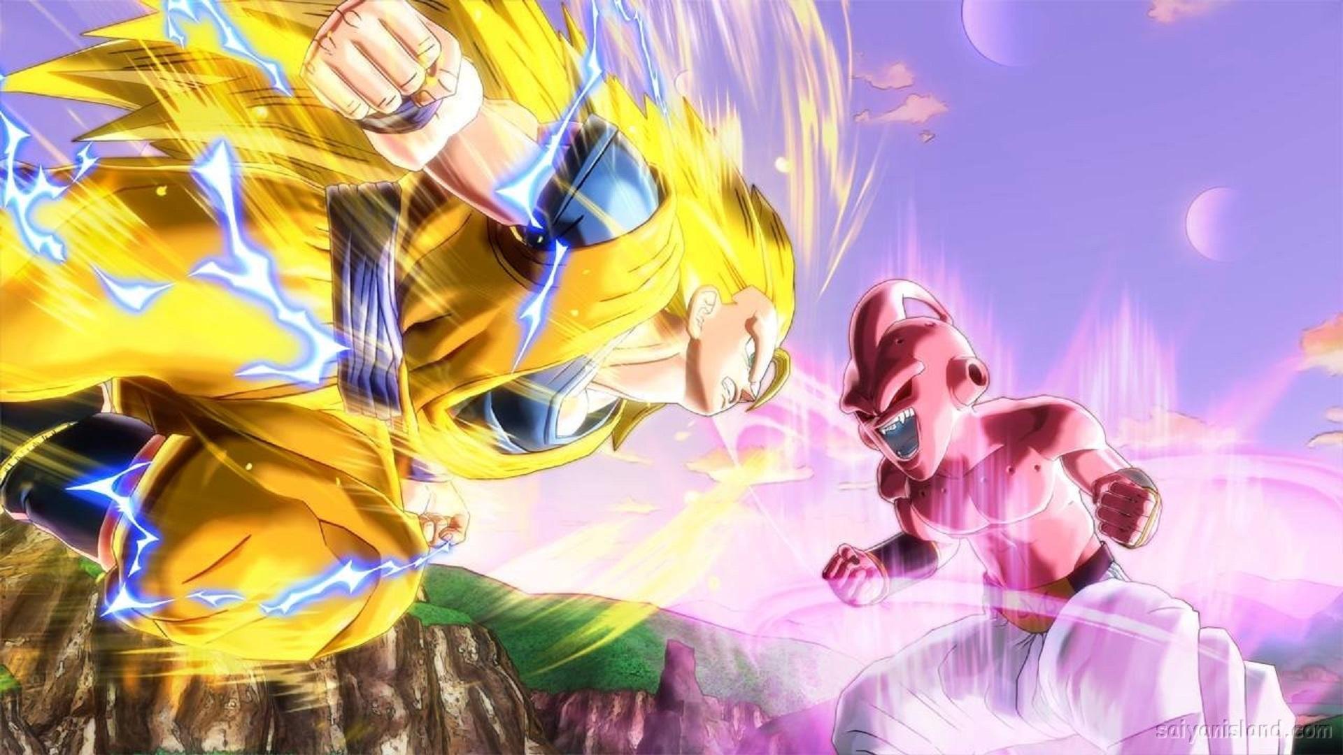 Dragon Ball Xenoverse Wallpaper Goku vs Majin Boo Showdown