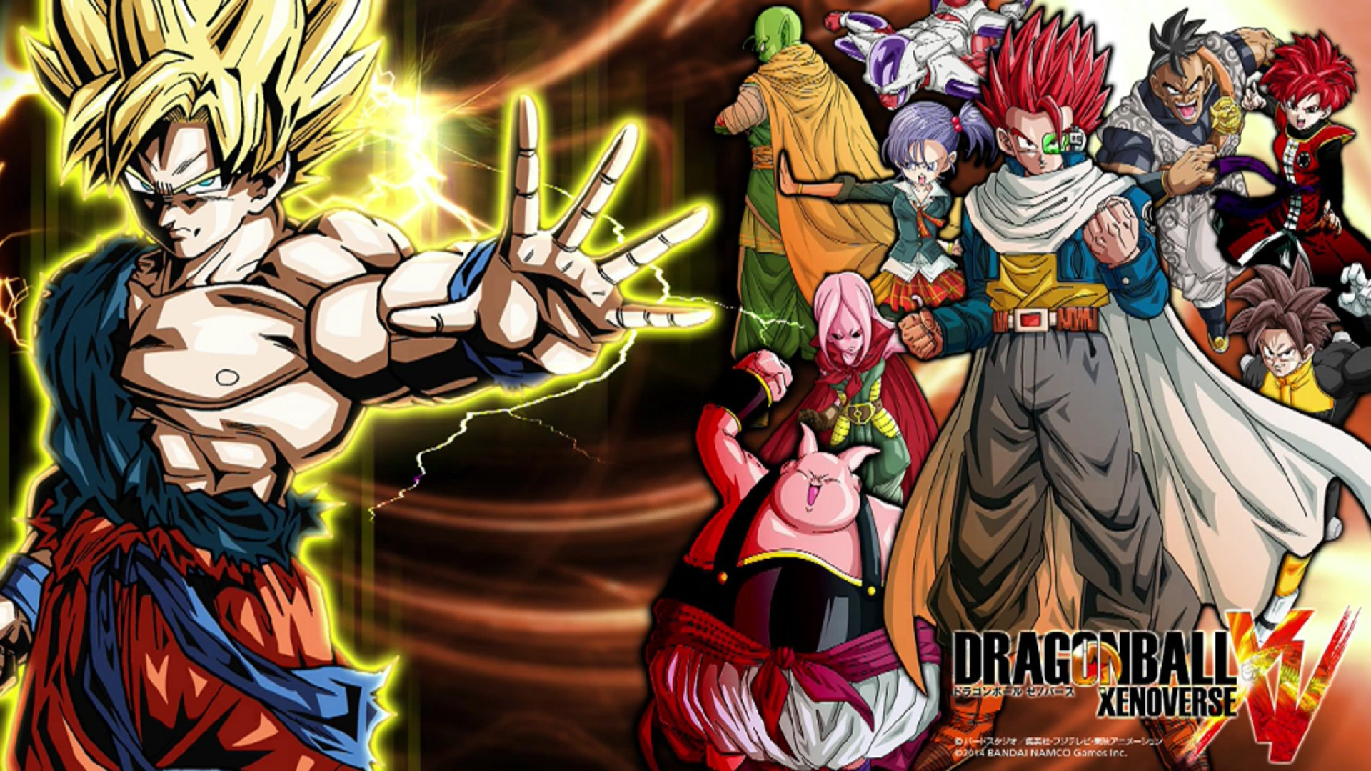 Dragon Ball Xenoverse Wallpaper More Characters