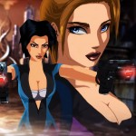 Fear Effect Hana and Rain Wallpaper Retro Helix