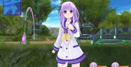 Hyperdimension Neptunia ReBirth 3 V Generation Gameplay Screenshot PSVita Purple Arch