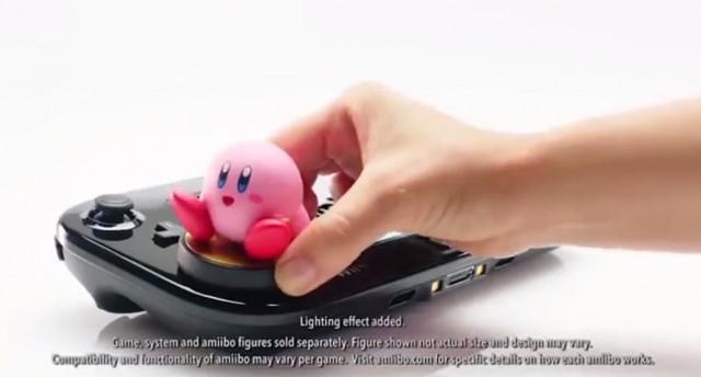 Kirby and the Rainbow Curse Kirby Amiibo Photo WiiU