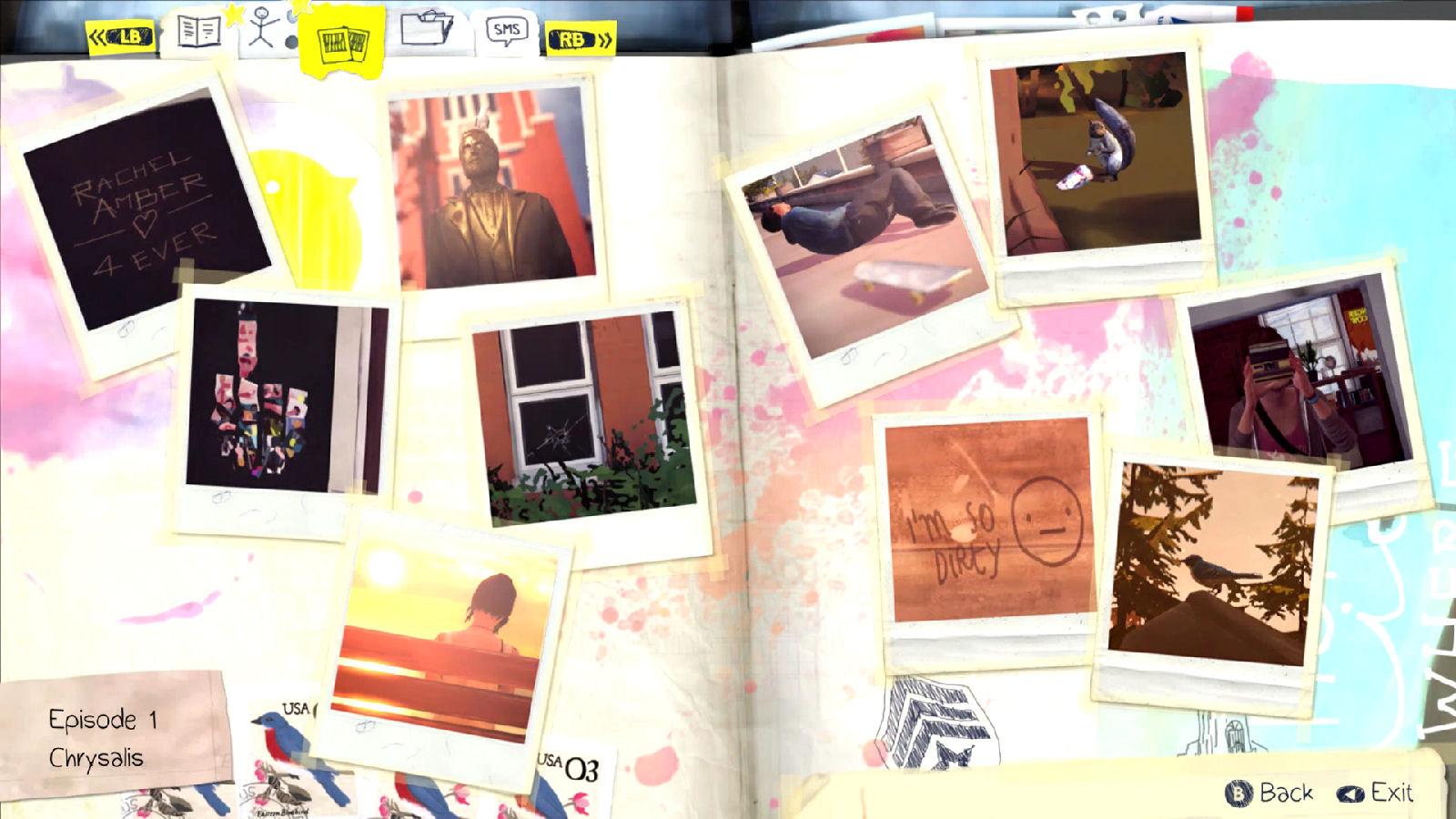 Life is Strange Episode 1 Optional Photos
