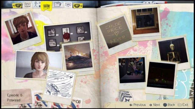 Life is Strange Episode 5 Optional Photos