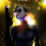 Mortal Kombat X Wallpaper Cassie Cage Hollywood Variation Fanart by Grapiqkad