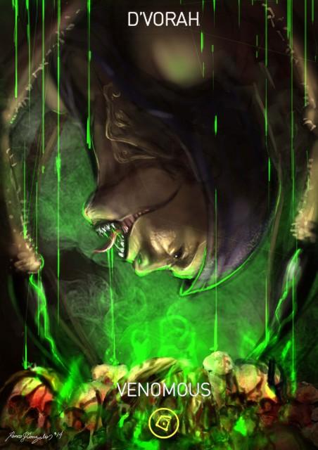Mortal Kombat X Wallpaper Dvorah Venomous Variation Fanart by Romeo J Gonzales