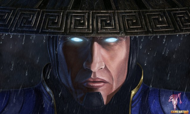 Mortal Kombat X Wallpaper Lord Raiden Returns Fanart by Esau Murga