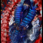 Mortal Kombat X Wallpaper Subzero Hole In Chest Fatality Fanart by Grapiqkad