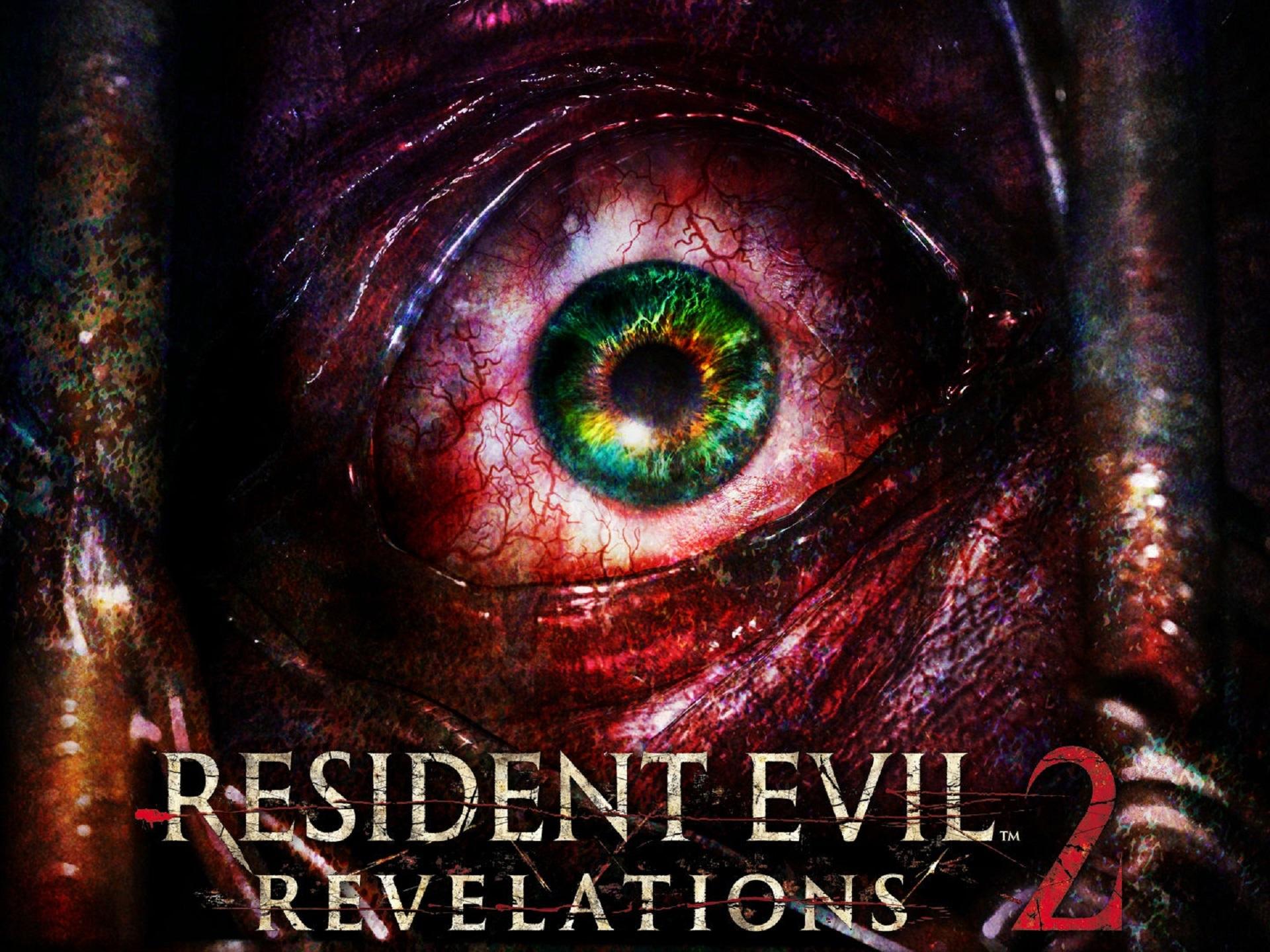 Resident Evil Revelations 2 Eye Wallpaper