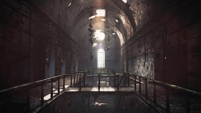 Resident Evil Revelations 2 Prison Walking Dead Concept Artwork Wallpaper