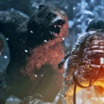Rise of the Tomb Raider Gameplay Screenshot Bear Attacks Xbox One