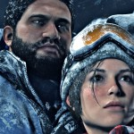Rise of the Tomb Raider Gameplay Screenshot Lara and Jonah Maiava Characters Xbox One