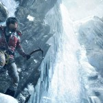 Rise of the Tomb Raider Gameplay Screenshot Mountain Blizzard Xbox One