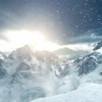 Rise of the Tomb Raider Gameplay Screenshot Snowy Sunrise Xbox One