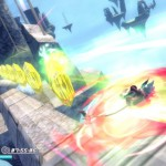 Rodea: Sky Soldier Gameplay Screenshot Collecting WiiU 3DS