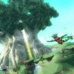 Rodea: Sky Soldier Gameplay Screenshot Deku Tree WiiU 3DS