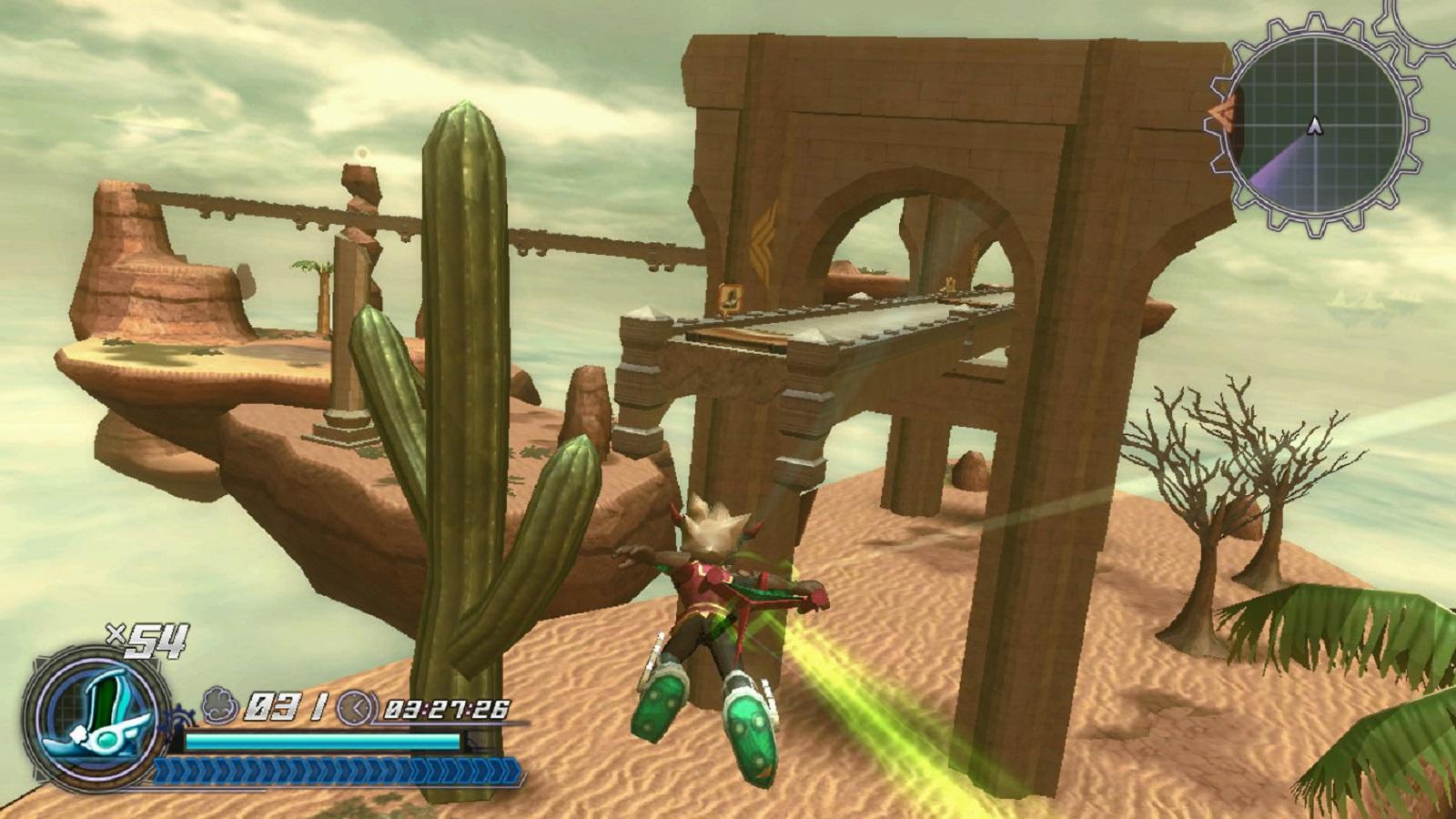 Rodea: Sky Soldier Gameplay Screenshot Phoenix Fireflight WiiU 3DS