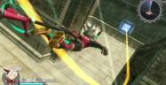 Rodea: Sky Soldier Gameplay Screenshot Flying or Falling WiiU 3DS