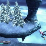 Rodea: Sky Soldier Gameplay Screenshot Merry Christmas WiiU 3DS