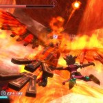 Rodea: Sky Soldier Gameplay Screenshot Rise of the Phoenix WiiU 3DS