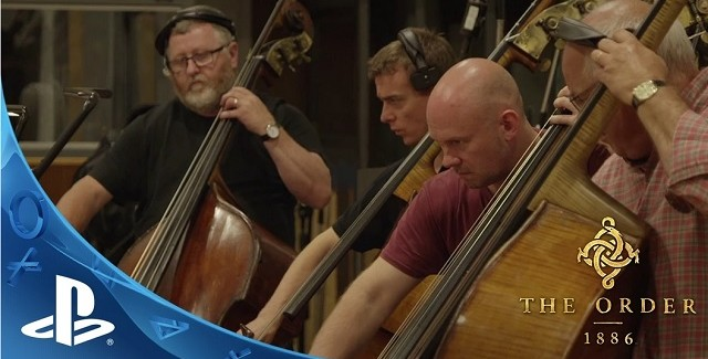 The Order 1886 Behind the Scenes Making of The Musical Soundtrack PS4 Orchestra
