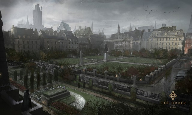 The Order 1886 Wallpaper Mayfair Square Location Concept Artwork PS4