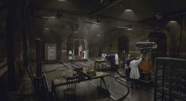 The Order 1886 Wallpaper Tesla Lab Coil Room Concept Artwork PS4