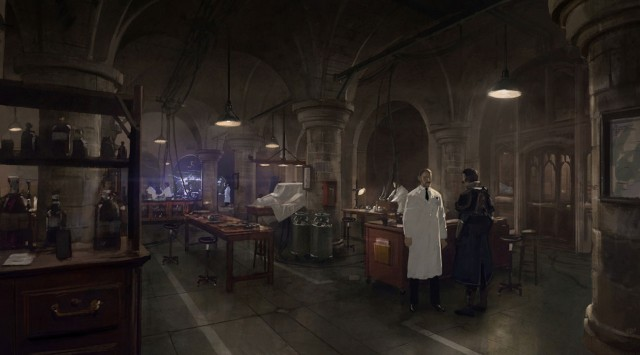 The Order 1886 Wallpaper Tesla Laboratory Concept Artwork PS4