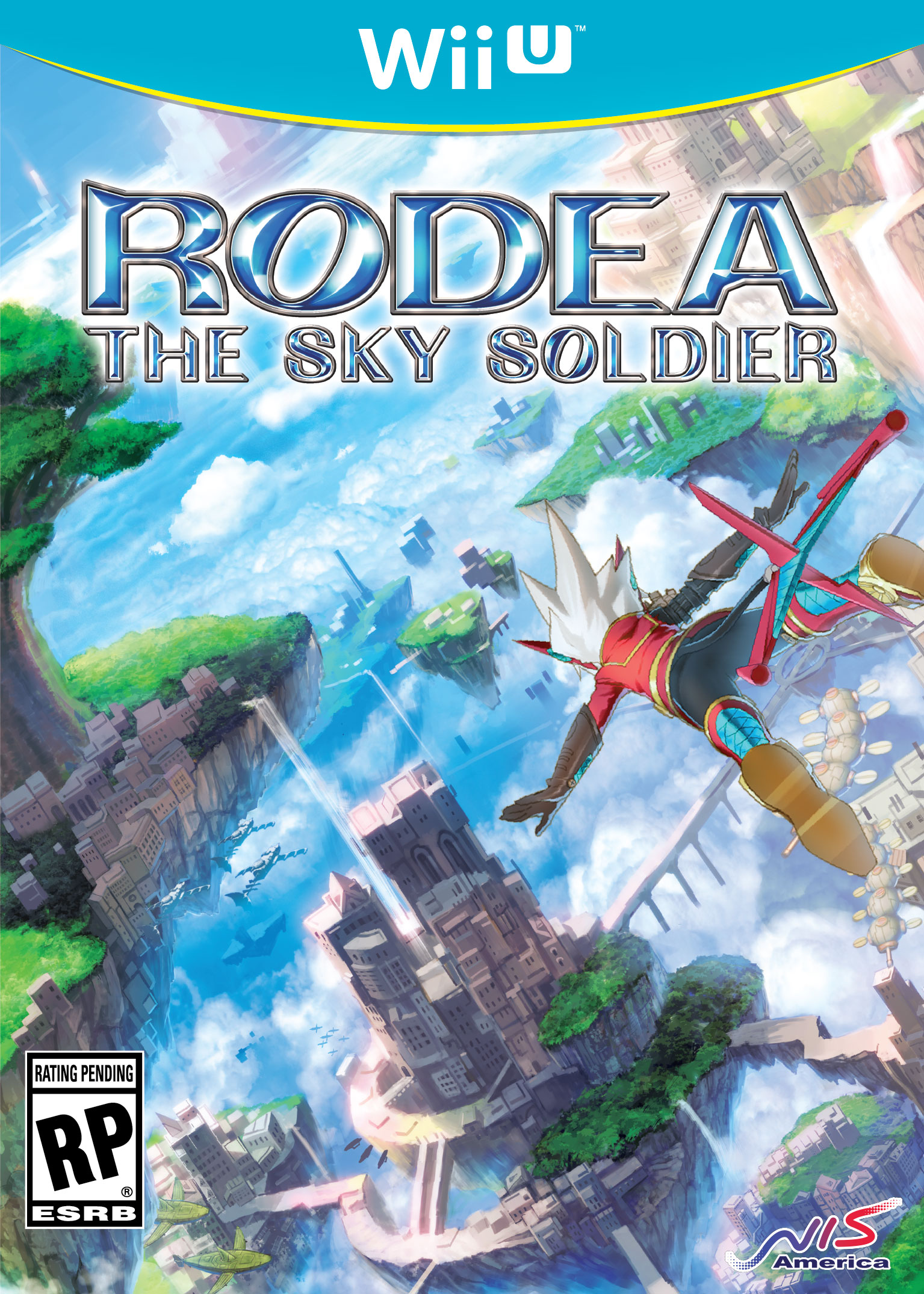 Wii U Rodea The Sky Soldier Box Artwork USA 2015