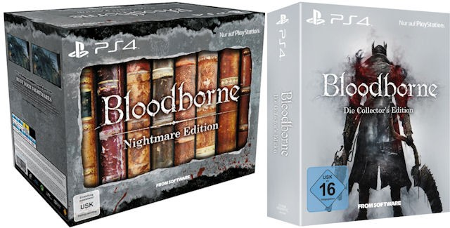 Bloodborne: Nightmare & Collector's Editions Unboxing
