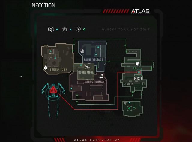 Call of Duty: Advanced Warfare Ascendance Infection Map