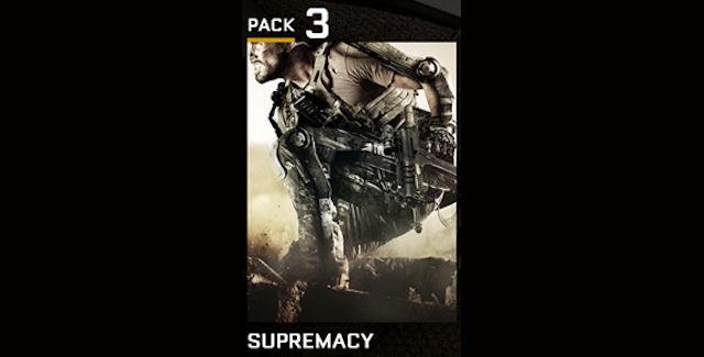 Call of Duty: Advanced Warfare Supremacy DLC Release Date