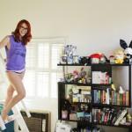 Meg Turney Ladder Barefoot