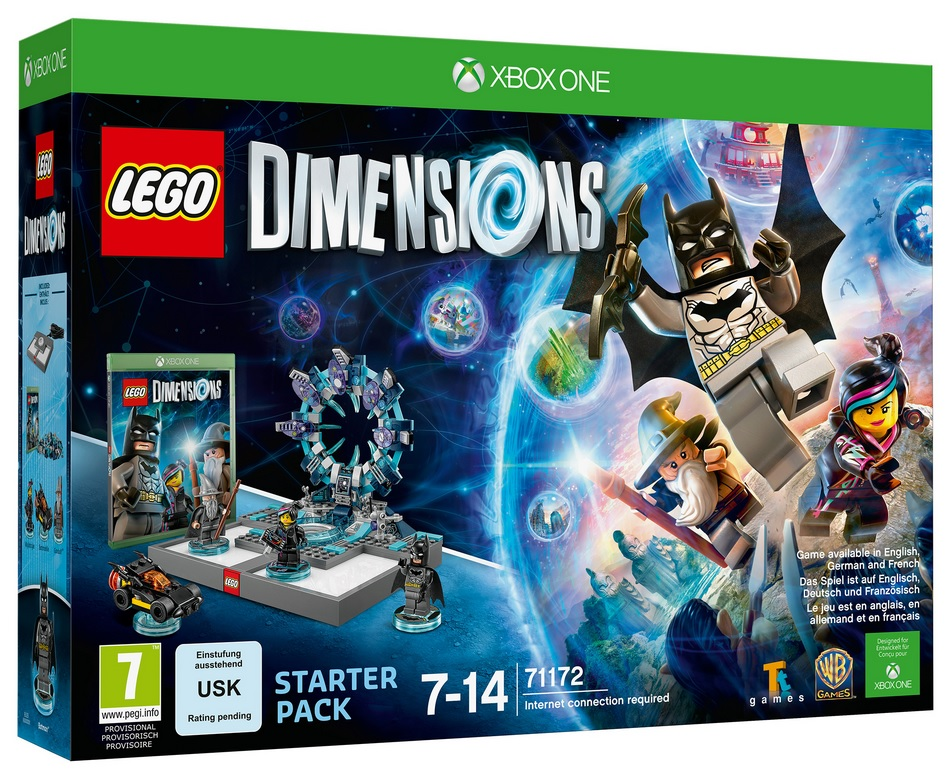 lego dimensions game with toys to life minifigures. Black Bedroom Furniture Sets. Home Design Ideas