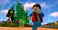 Lego Dimensions Screenshot Lord of the Rings Back to the Future Wizard of Oz Witch Gollum Marty McFly