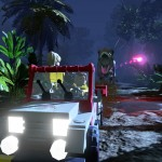 Lego Jurassic World T-Rex Chase Scene Screenshot