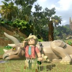 Lego Jurassic World Triceratops Screenshot