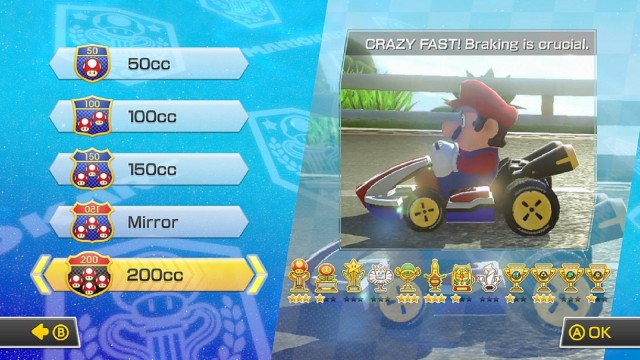 Mario Kart 8 200cc Crazy Fast Mode Gameplay Screenshot Wii U