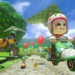 Mario Kart 8 Amiibo Costumes Animal Crossing Gameplay Screenshot Wii U
