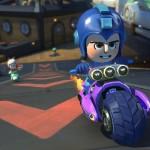 Mario Kart 8 Amiibo Costumes Megaman Gameplay Screenshot Wii U