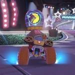 Mario Kart 8 Amiibo Costumes Neon Pacman Helmet Gameplay Screenshot Wii U
