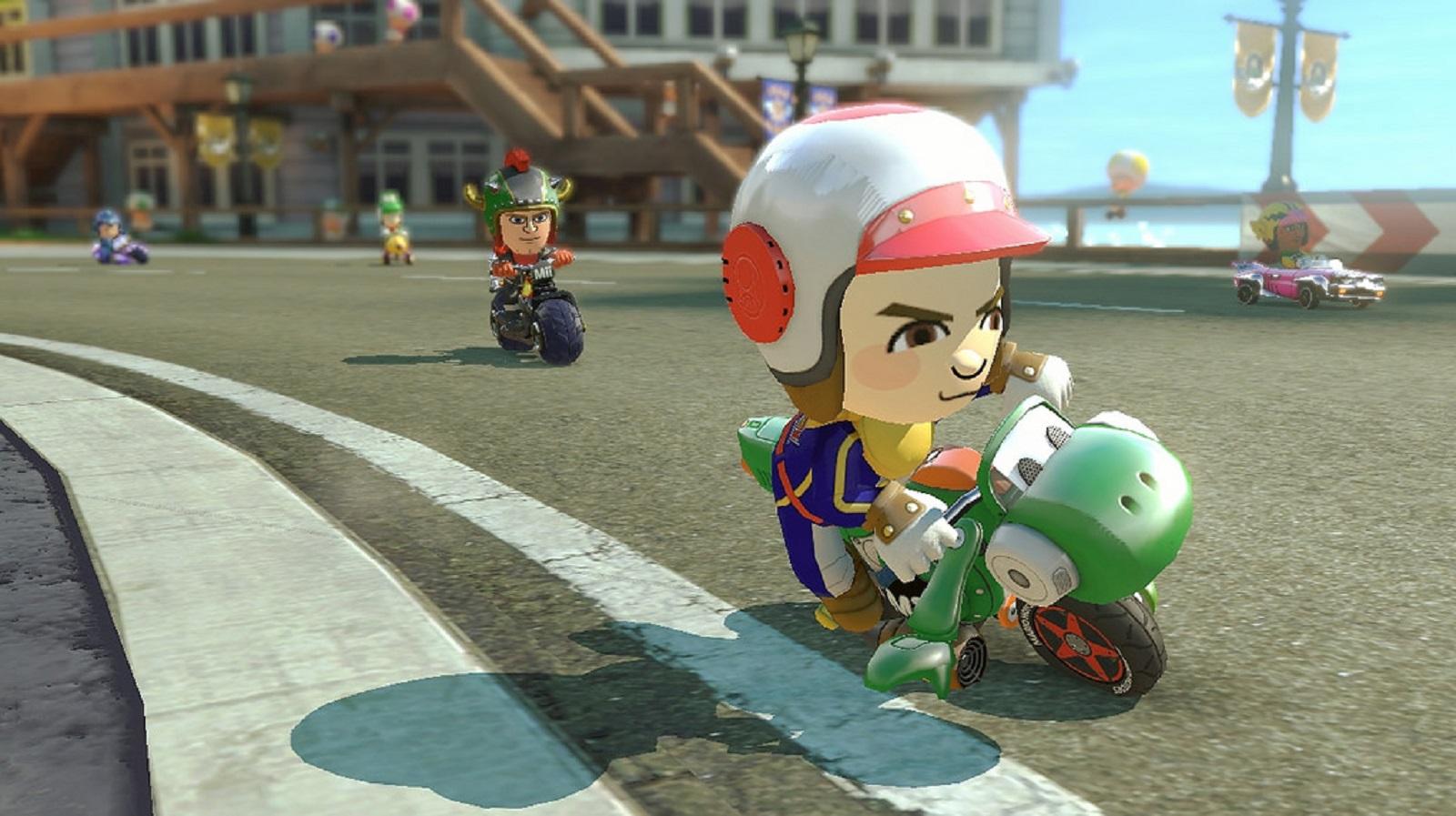 Mario Kart 8 Amiibo Costumes Toad Gameplay Screenshot Wii U
