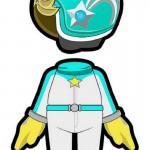 Mario Kart 8 Amiibo Outfit Rosalina Wii U