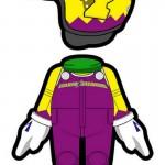 Mario Kart 8 Amiibo Outfit Wario Wii U