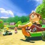 Mario Kart 8 Animal Crossing Gameplay Screenshot Race Under the Apple Tree Wii U