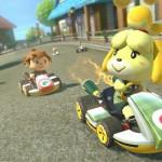Mario Kart 8 Animal Crossing Gameplay Screenshot Suburbs Wii U