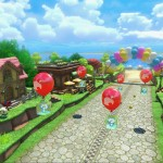Mario Kart 8 Animal Crossing Tracks Gameplay Screenshot Balloons Wii U